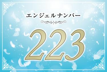 エンジェルナンバー223の意味は「アセンデッドマスターがあなたに知恵を与えてくれる」! ツインレイへの天使からのメッセージ
