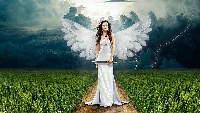 地上に来た天使